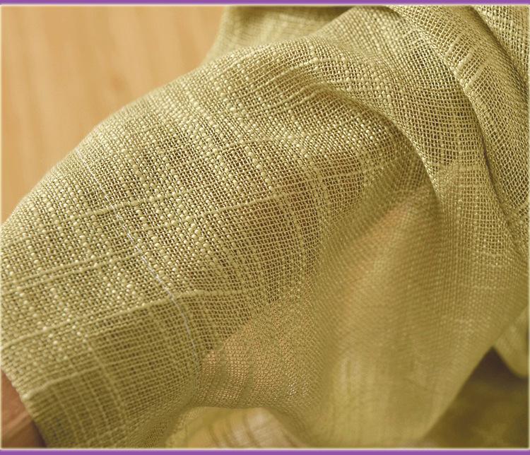 Dày của sợi đay ỉ bột. Thằng bé xanh tím nhạt màu ngà subunicolor nửa lưới thép thập tự rèm sợi