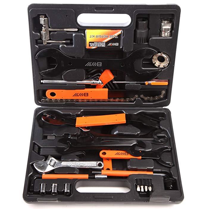 KANSOON (Lu Fang series) kết hợp hộp công cụ Đa chức năng công cụ sửa chữa kết hợp hộp công cụ Xe Đạ