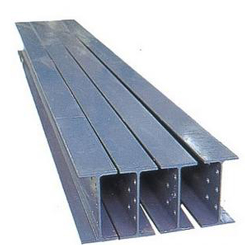 Kết cấu thép xây dựng gác mái I-dầm thép H-dầm kết cấu thép cầu thang tường rèm mạ kẽm