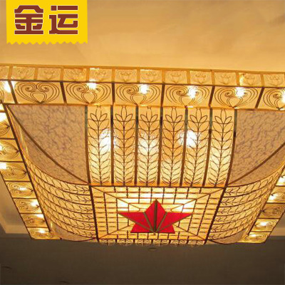 châu Âu cung cấp khách sạn sảnh khách sạn hút trên đèn chùm đèn lớn, hành lang kỹ thuật chế biến