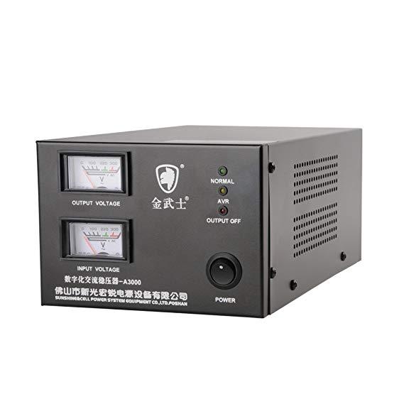 Golden Warrior A3000 tự động điều chỉnh điện áp 3000VA / 1800 Wát hộ gia đình AC điều chỉnh điện áp