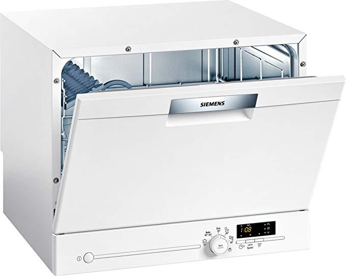 Siemens Siemens SK26E221EU iQ300 tốc độ nhỏ gọn - Máy rửa chén / A + / 6 MGD / Tốc độ biến / Cực khô