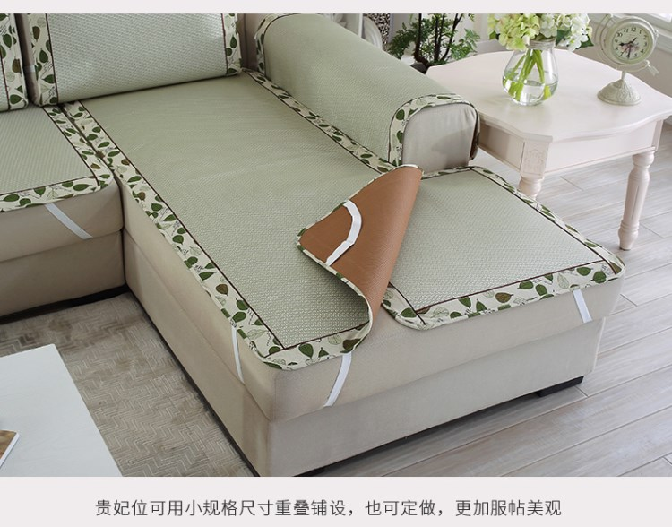 Mùa hè Vine ghế nệm đệm đơn giản. Chiếu châu Âu mùa hè kết hợp bộ ghế sofa dusaveli trơn nhỉ.
