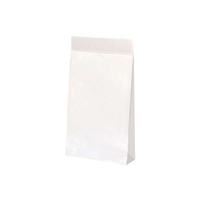 Túi giấy thể hiện túi màu trắng rắn l 10 mảnh 2536 cha mẹ s