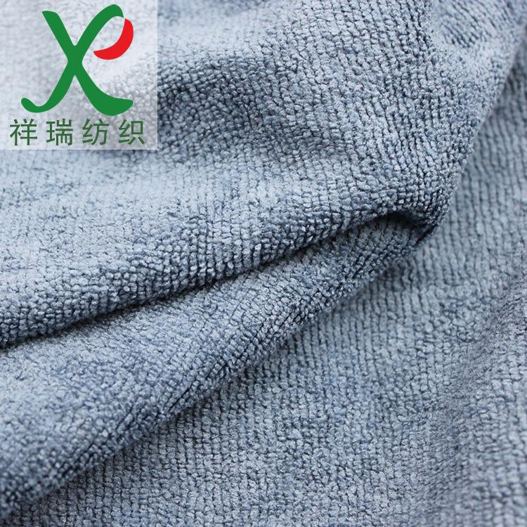 Thông số kỹ thuật chấp nhận tùy chỉnh Sợi Nhỏ sợi dọc dệt kim vải polyester terry Siêu mỏng đôi phải
