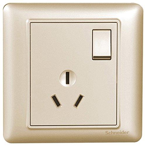 Schneider - Ổ Cắm bảng điều chỉnh 16A ba lỗ điều hòa không khí ổ cắm với switch
