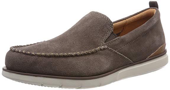 Giày lười vải nhung Clarks edgewood STEP