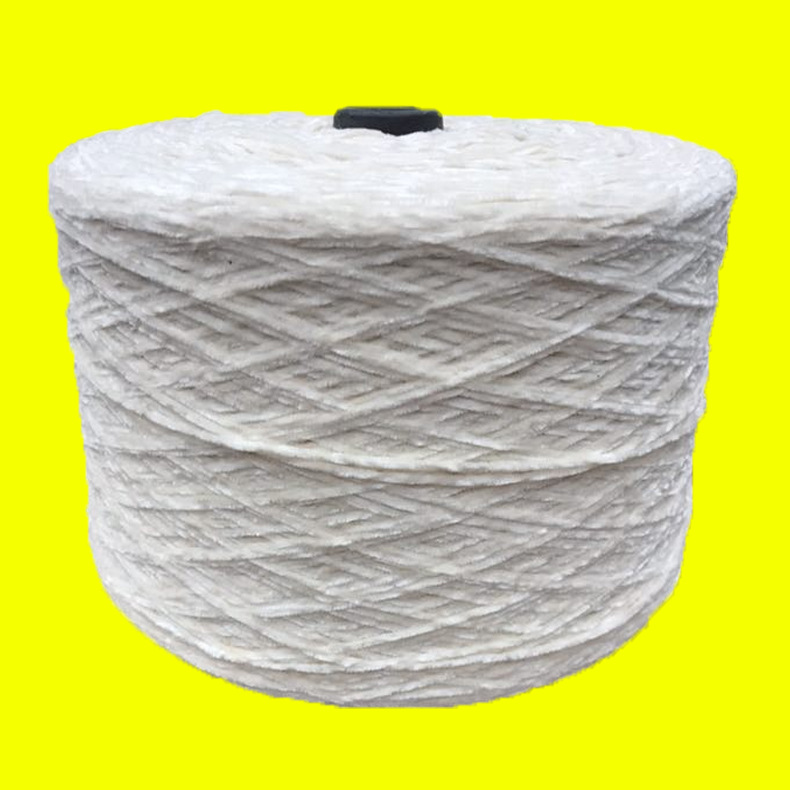 Nhà máy cung cấp trực tiếp của sợi polyester Snowy 100% sợi polyester 4.5 Sợi polyester tinh khiết b