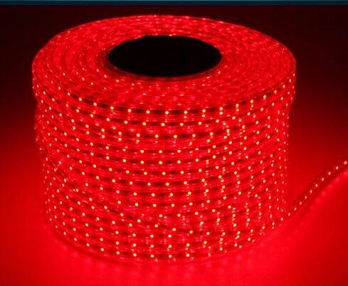 VNC LED ánh sáng với 60 hạt ánh sáng trần dải 3528 vá 220 V GB dải ánh sáng 120 hạt siêu sáng (60 hạ