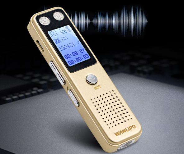 Bồ F-86 cuộn băng ghi âm mini xách tay bút bút máy chơi nhạc MP3 bên ngoài để giảm tiếng ồn độ nét c