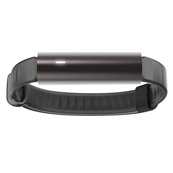 Misfit Ray vòng đeo tay thông minh Thể thao dây đeo cổ tay bản sao thiên thạch đen (không cần phải s