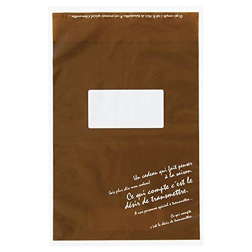 Dán nhãn bằng túi chuyển phát nhanh BKF - Kích thước thư S (50 miếng) BKF TB4