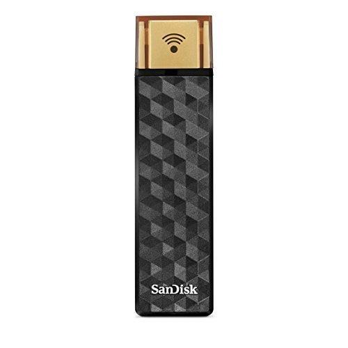 SanDisk - Ổ cứng không dây kết nối 128 GB | Ổ đĩa flash không dây & USB 2.0 | Dành cho máy tính bảng