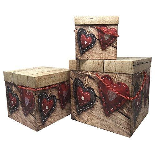 Loại kim loại giấy corp. Chủ đề trang trí làm tổ hộp quà tặng hộp quà đặt bộ crisper hộp thiết lập p
