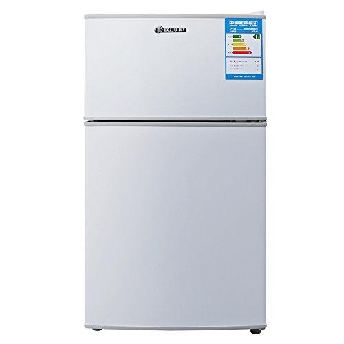 Ou Li BCD-96 96 l tủ lạnh cửa kép (màu trắng ngọc trai) hoang dã xuất hiện hoàn hảo độc lập tủ đông