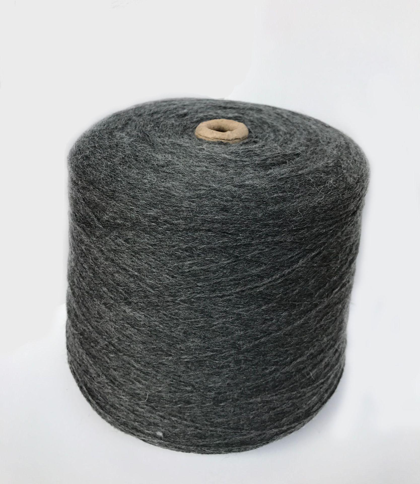 Sợi tổng hợp 15% Len 30% Acrylic 55% Polyester Sợi len siêu dính