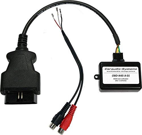 CarAudio - Hệ thống OBD - N45 - X - 01 Đầu vào OBD AUX Súng / Bộ mã hóa Mercedes-Benz Comand APS ntg