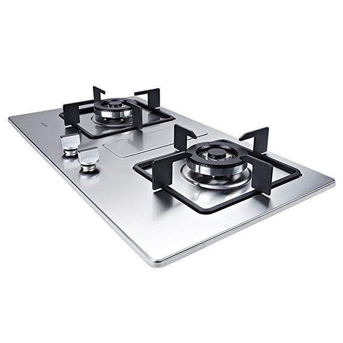 Sacon 4.2KW lớn hỏa lực thép không gỉ đôi mắt bếp lò máy tính để bàn (xin vui lòng liên hệ với dịch