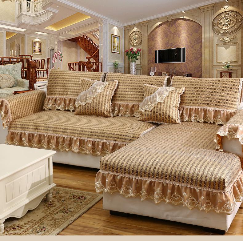 Mùa hè chiếu châu Âu mùa hè lạnh da trơn nhỉ nệm lót nệm Vine bàn ghế bộ trong phòng khách.