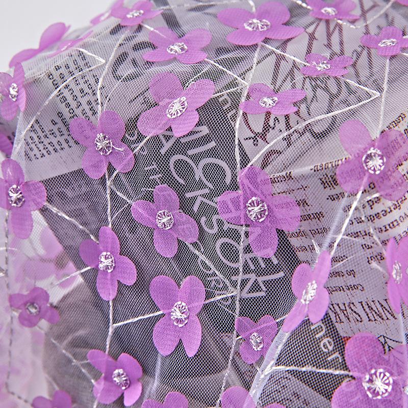 Các nhà sản xuất new new laser vải thêu hoa thêu vải thêu thời trang đầm vải