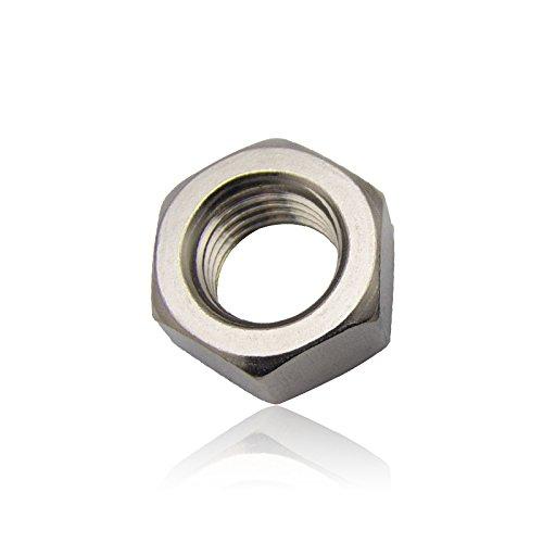 Đích thực 304 thép không gỉ hex nut nut vít cap M2-M27 hex nut (304 hạt M22)