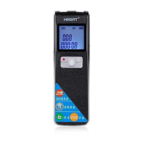 Bút ghi âm đường dài có độ phân giải cao 100m (có thể đeo qua tường) sạc có thể ghi âm 350 giờ FM ra