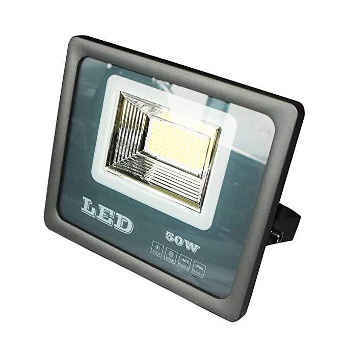 Laggousi LED 50 Wát Wolf Lights Trắng 6000 K 120 Degrees Chiếu Sáng Chiếu Góc Quảng Cáo Biển Hiệu Fl