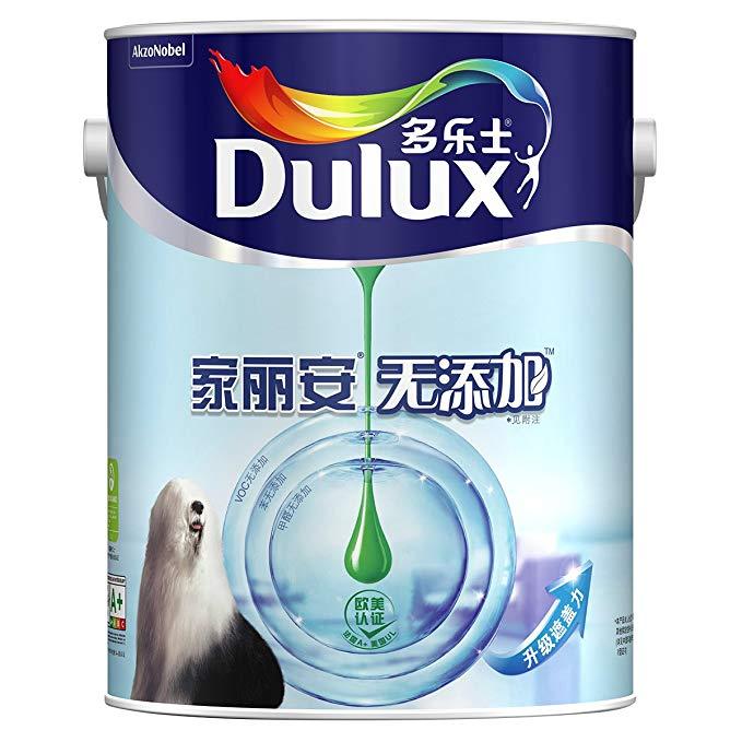 Dulux Dulux A846 Jialian không thêm nội thất sơn cao su Sơn sơn Tường sơn màu trắng 5L