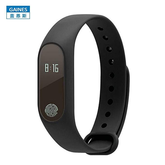 Vòng đeo tay thông minh Bluetooth vòng đeo tay thể thao bước không thấm nước kiểm tra nhịp tim ngủ s