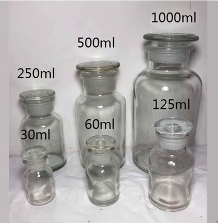 Jar Chai Chà Kiểm Tra Thuốc Thử Chai Chì miễn phí Thủy Tinh Dày Hóa Học Lấy Mẫu Chai Phòng Thí Nghiệ