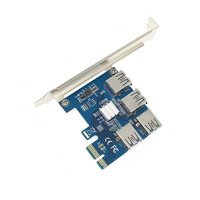 Adapter mở rộng cổng PCI-e