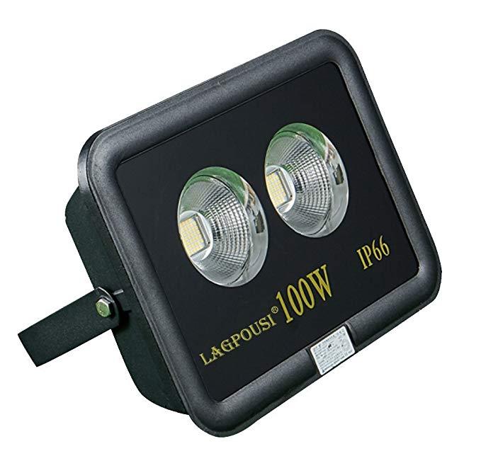 Đèn LED 100W đèn sân khấu có màu trắng 6000K 60 độ góc chiếu Chiếu đèn pha dấu hiệu IP66
