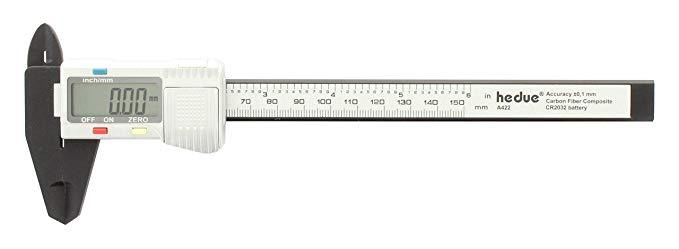 Hedue A422 sợi carbon kỹ thuật số caliper 150 MM