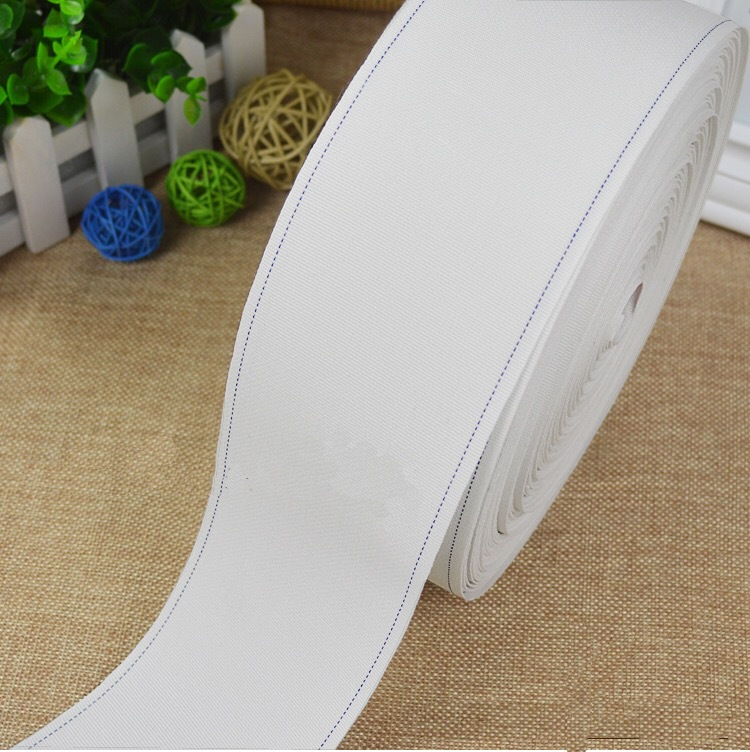 Off-the-shelf sizing với quay chân 50 m rèm vải trắng với các phụ kiện phụ kiện Roman vòng tròn rèm
