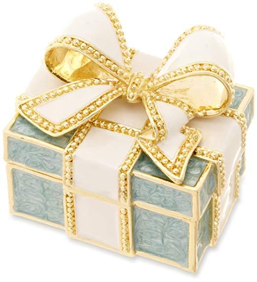 Hộp quà tặng 2 màu tùy chọn hộp lưu trữ đồ trang sức