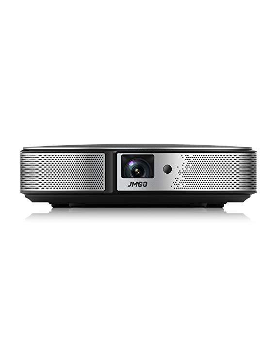 JmGO Nut C6 Chiếu hỗ trợ 1080 p nhà HD mini thông minh wifi máy chiếu không dây TV Di Động