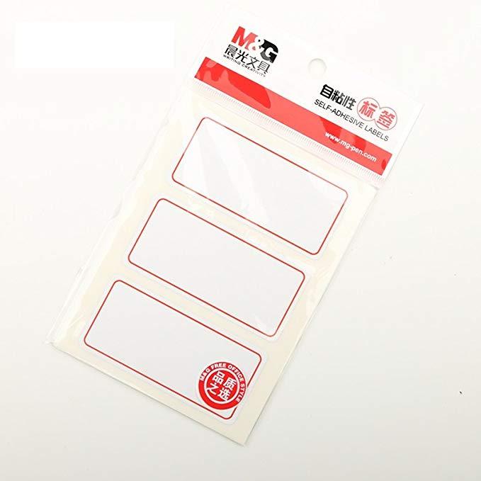Buổi sáng Ánh Sáng Tự Dính Nhãn Sticker Sticker Giấy Oral Chỉ Số Nhãn 76 MÉT * 32 MÉT 30 / gói (5 Tú