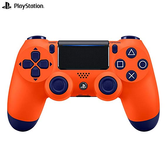 SONY PS4 không dây điều khiển không dây điều khiển trò chơi xử lý CUH-ZCT2NA Sunset Orange PS4 chính