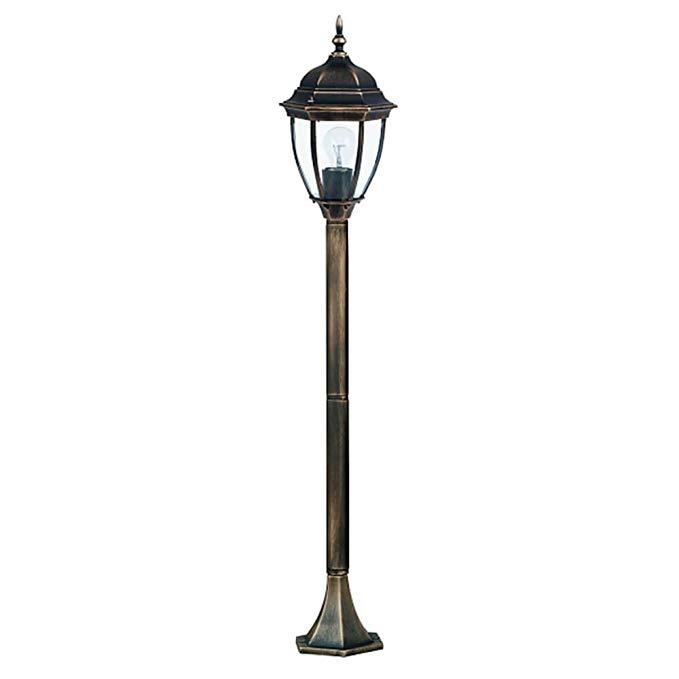RABALUX 8385 A ++ đến E, ánh sáng đường dẫn Toronto, kim loại, 100 watt, E27, vàng cổ, 20,5 x 20,5 x