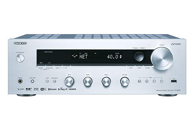 Bộ thu tín hiệu mạng ONKYO tx-8270-s - Bạc