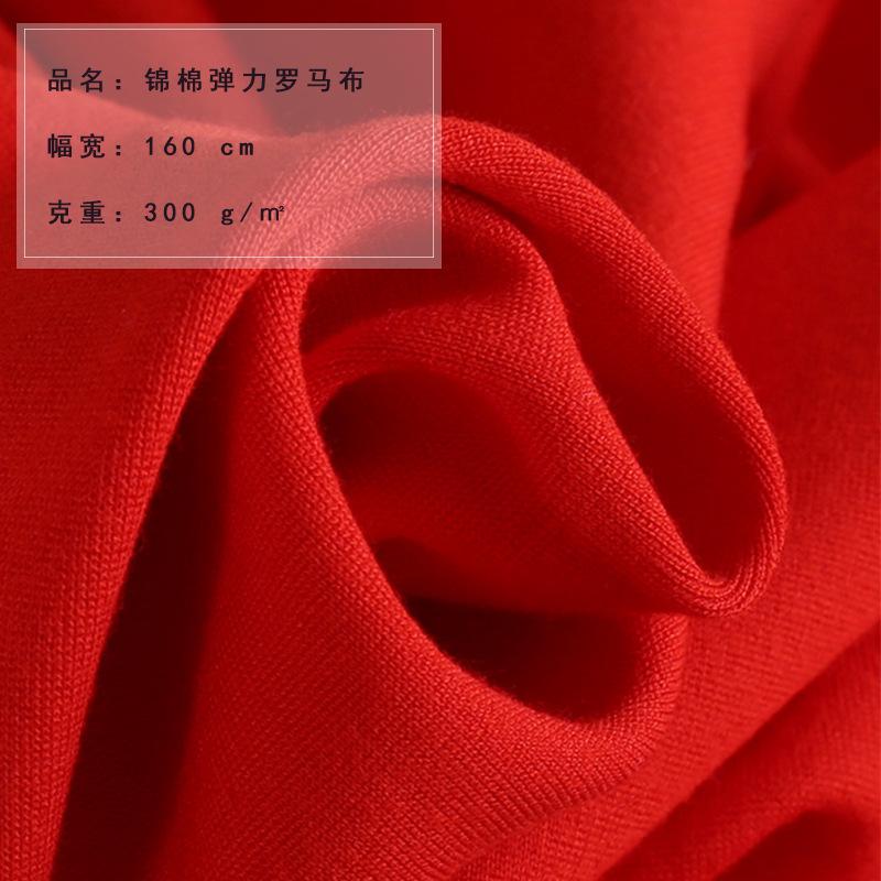 Nhà máy trực tiếp mùa thu và mùa đông nylon cotton stretch Roman vải vải dệt kim ăn mặc thời trang c