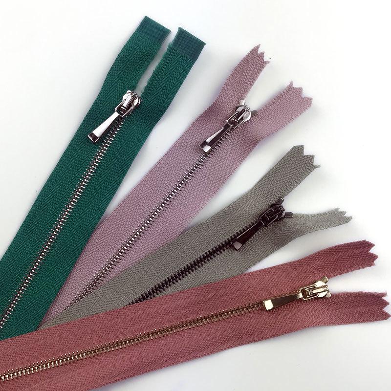 New 1st dây kéo kim loại đóng cửa dây kéo Quần Áo quần dây kéo tùy chỉnh bán buôn