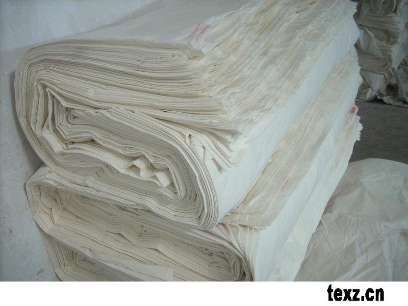 JC60S 110 * 110 vải cotton nguyên chất Full combing / túi tẩy trắng nhuộm / cổng chiều rộng 67 inch,
