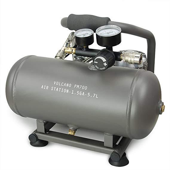 VOLCANO PM700 Máy nén khí không cần bảo trì không dầu Để tăng lạm phát nhanh chóng của lốp xe, thuyề