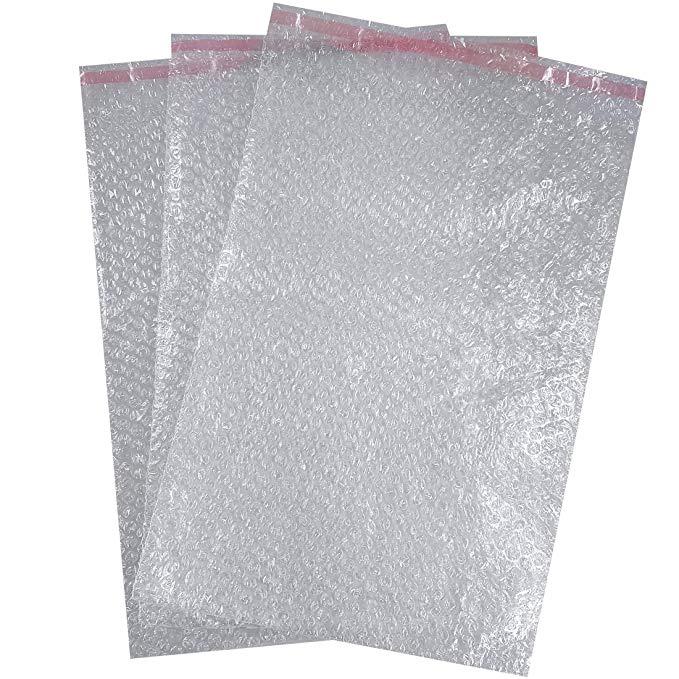 Triplast Handmade 774, 7 X 1.104, túi màng bong bóng rõ ràng 9 cm (10 miếng)