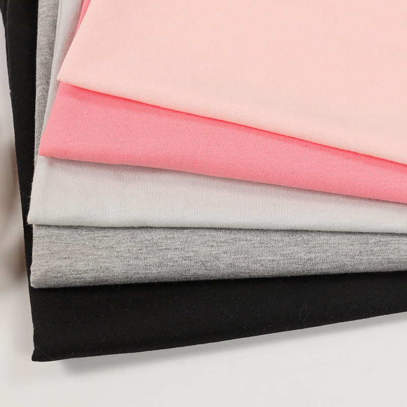 Sản phẩm mới Áo phông bằng vải bông Quần áo thể thao giản dị Vải may mặc khăn trải bàn Khăn trải bàn