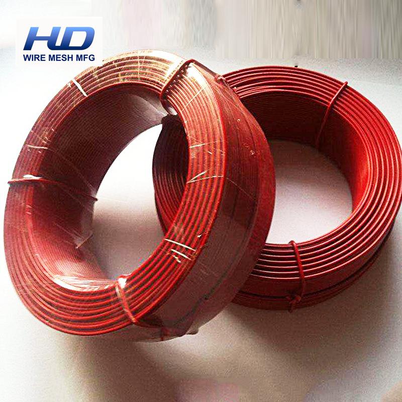 Tùy chỉnh vòng nhựa tráng dây PVC tráng dây kim loại bán buôn chống lão hóa văn hóa ăn mòn bảo vệ dâ