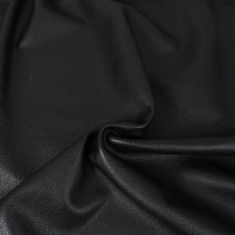 Nhà máy trực tiếp đen nhỏ vải da da bò da bọc da túi da giày da