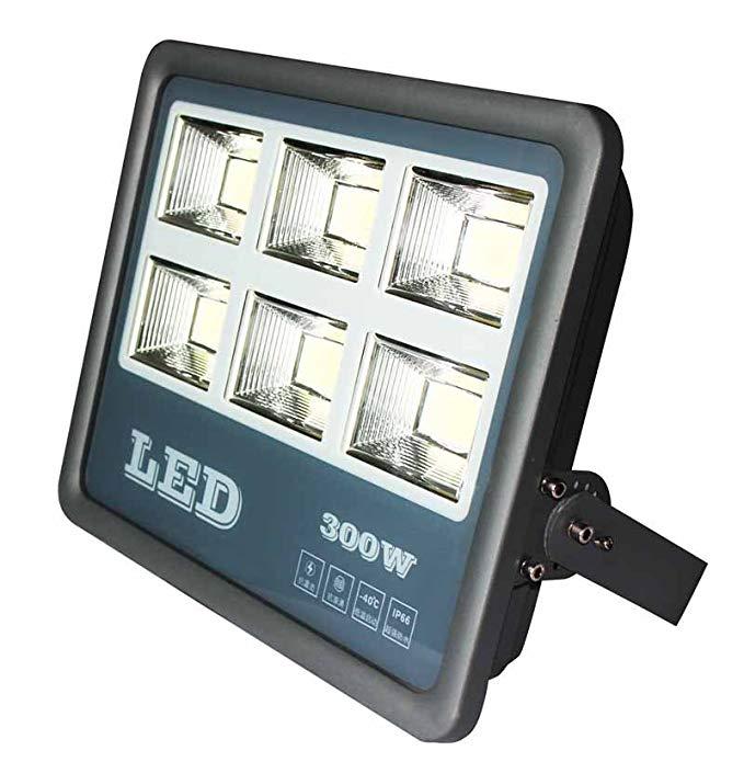 Laggousi LED 300 Wát Wolf Lights Trắng 6000 K 120 độ chiếu sáng góc chiếu Quảng Cáo đăng đèn pha IP6