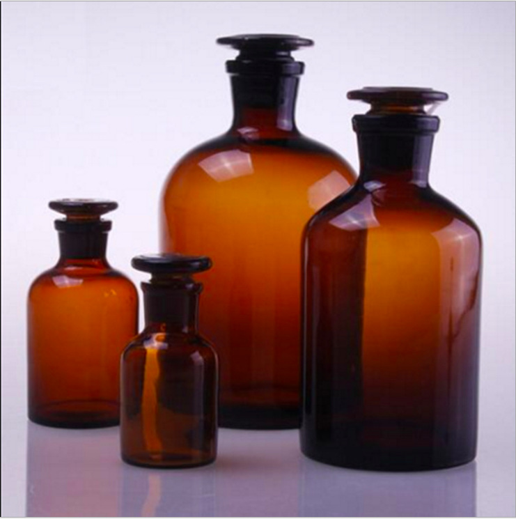 Nhà sản xuất bán buôn thông số kỹ thuật khác nhau frosted miệng thuốc thử chai lọ tốt miệng chai y t